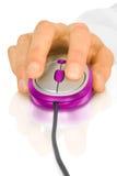 modern mus för datorhand Arkivbilder