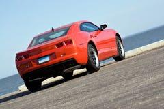 Modern Muscle Car Stock Photo