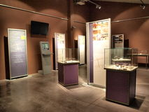 Modern museum, Krzemionki, Poland Royalty Free Stock Photography