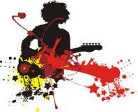 Modern music vector illustration