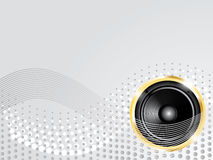 Modern music background Royalty Free Stock Image