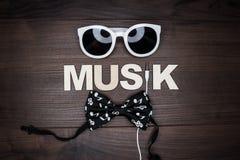 Modern music concept Royalty Free Stock Photos