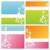 Modern musical backgrounds Stock Image