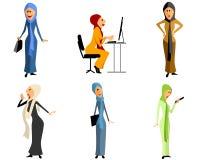 Modern muslim girls Stock Photos