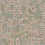 Modern naadloos digitaal van woestijncamo patroon als achtergrond Royalty-vrije Stock Foto