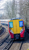 Modern National Rail Train Stock Images