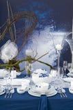 modern nattinställningstabell Royaltyfria Bilder