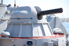 Modern naval artillery Royalty Free Stock Photos
