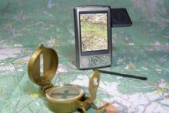 modern navigering royaltyfria foton