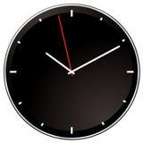 Modern negative clock Royalty Free Stock Photo