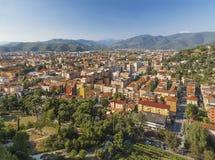 Modern neighborhoods of Brescia Stock Images