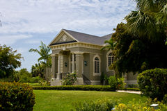 Modern Neo Classical House. Modern Neo-Classical style house with view of landscaping Royalty Free Stock Image