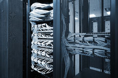 Modern network equipment Royalty Free Stock Photography