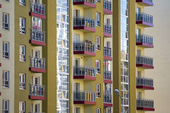 Modern and new apartment building. Stock Images