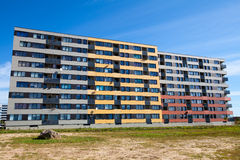 Modern and new apartment building. Royalty Free Stock Photography
