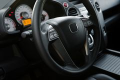 Modern new car stock photos