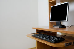 Modern new computer Stock Images