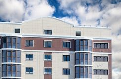 Modern, new executive apartment building Royalty Free Stock Photography