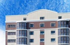 Modern, new executive apartment building Royalty Free Stock Photos