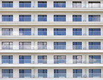 Modern new hotel windows Stock Image