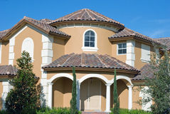 Modern New House Royalty Free Stock Image