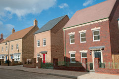 Modern new housing Royalty Free Stock Images