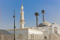 Modern Mosque of Muslims. Modern new Mosque Muslims at new Cairo City , Egypt Royalty Free Stock Photo