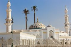 Modern Mosque of Muslims. Modern new Mosque Muslims at new Cairo City , Egypt Stock Images