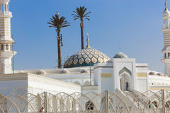 Modern Mosque of Muslims. Modern new Mosque Muslims at new Cairo City , Egypt Stock Photo