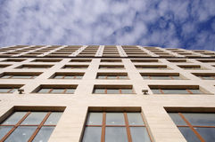 Modern new office building in the sky Stock Photography