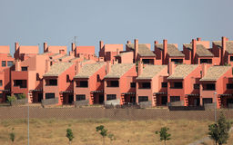 Modern new resiential houses Royalty Free Stock Photography