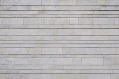 Modern new wall of limestone Stock Photography