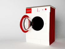 Modern nice washing machine Stock Images