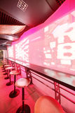 Modern night club in european style Stock Images