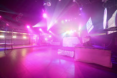 Modern night club in european style Stock Image