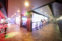 Modern night club in european style Royalty Free Stock Photography