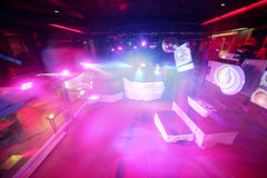 Modern night club in european style Stock Photography