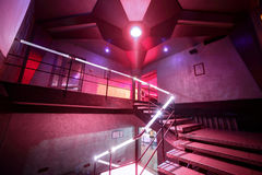 Modern night club in european style Royalty Free Stock Photo