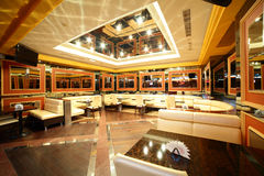 Modern night club in european style Royalty Free Stock Image
