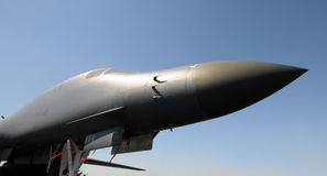 Modern nuclear bomber Stock Images