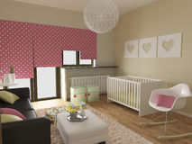 Modern nursery Royalty Free Stock Photo