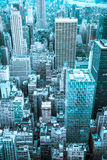 Modern NYC Cityscape Royalty Free Stock Images