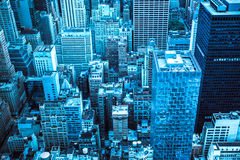 Modern NYC Cityscape Stock Photo