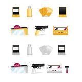Modern objects collection Stock Photos
