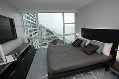 Modern ocean view condominium Stock Photos