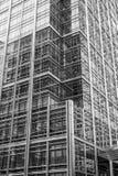 Modern och fantastisk arkitektur på Canary Wharf London - LONDON - STORBRITANNIEN - SEPTEMBER 19, 2016 Arkivbild