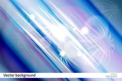 Modern och framtida stil för vektorsignalljusbakgrund Arkivfoto