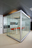 Modern office. Interior of the modern office in the new building Royalty Free Stock Images