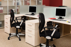 Modern office Stock Photography