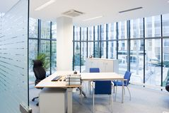 Modern office. Interior of a modern office